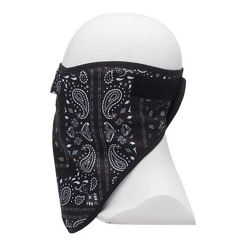 686 strap face mask black goblin bandana