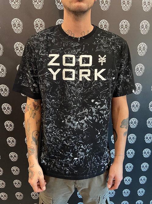 Zoo york tee classic logo grey/black