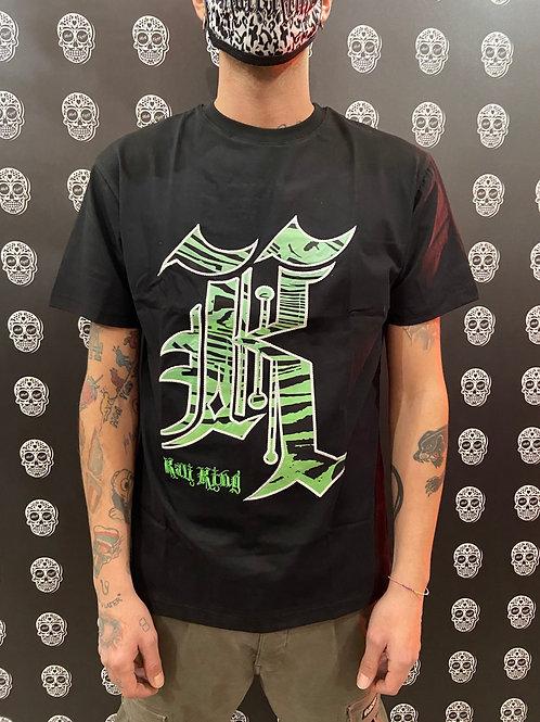 Kali king t-shirt K green