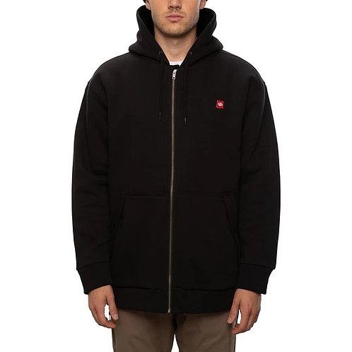 686 boned sherpa hooded sweatshirt