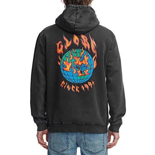Globe brand scorched hoodie
