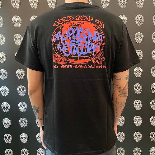 Propaganda t-shirt network black