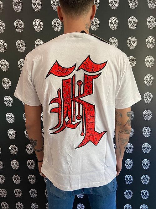Kaliking t-shirt anarchy/white