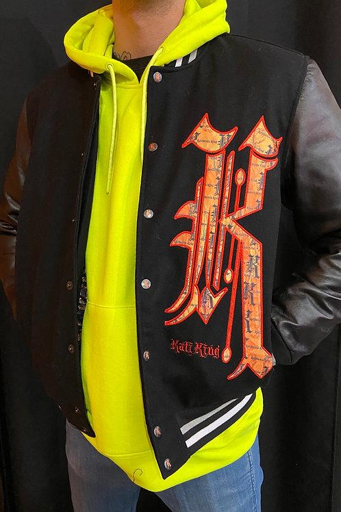 Kaliking jacket orange/black/flame