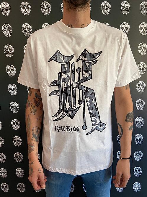Kaliking t-shirt camo/grey