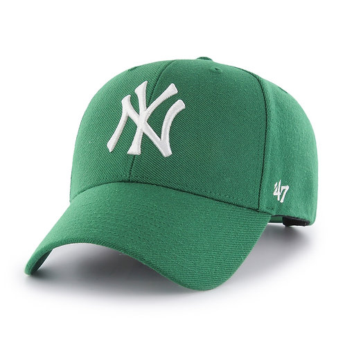 47 brand new york cap green