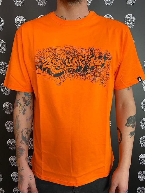 Zoo York t-shirt crapiti orange