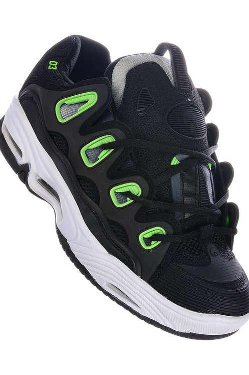 Osiris D3 2001 black/white/green