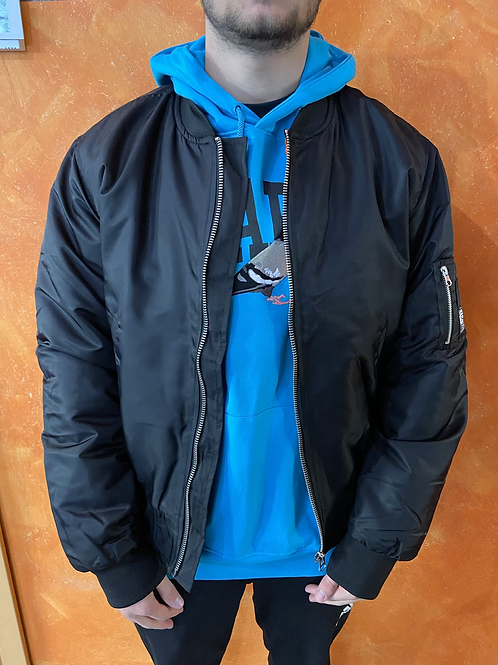 Propaganda bomber logo jacket