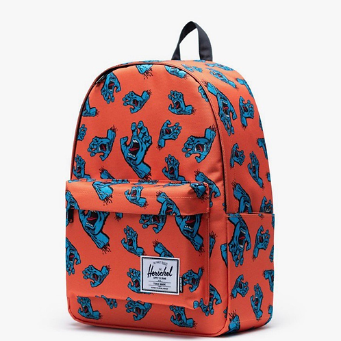 Santa Cruz x Herschel classic backpack XL firecracker/screaming hand