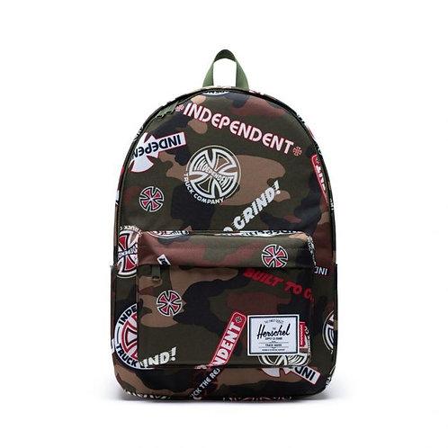 Independent x Herschel classic backpack XL camo