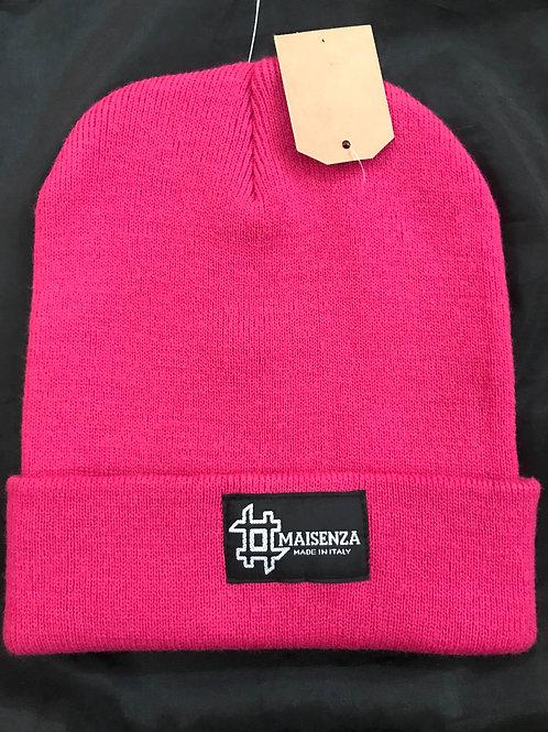 #maisenza cappellino di lana purple