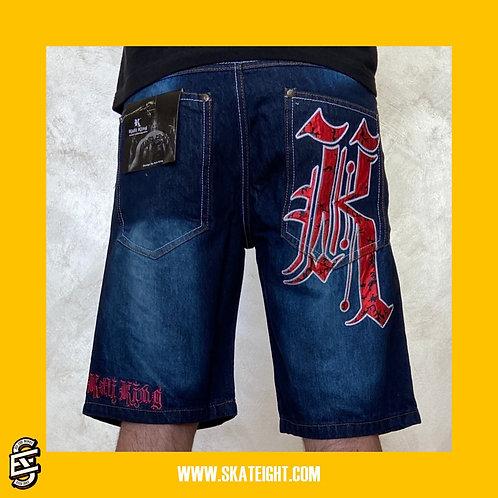 Kaliking red short jeans