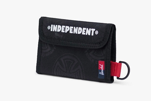 Independent x Herschel fairway wallet black new