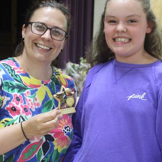 Award winner Billie