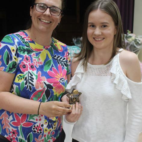 Award winner Holly