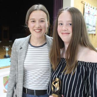 Award winner Rebecca