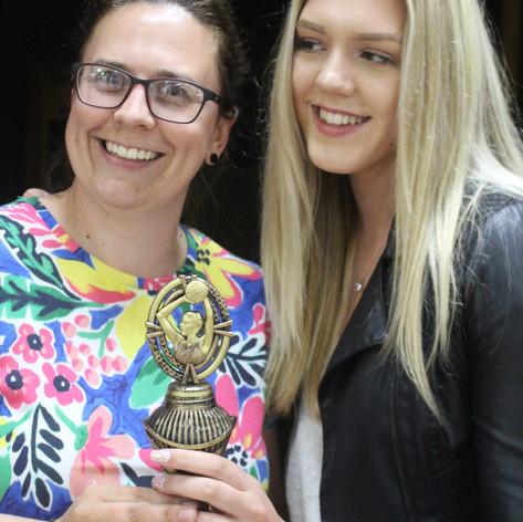 Award winner Molly