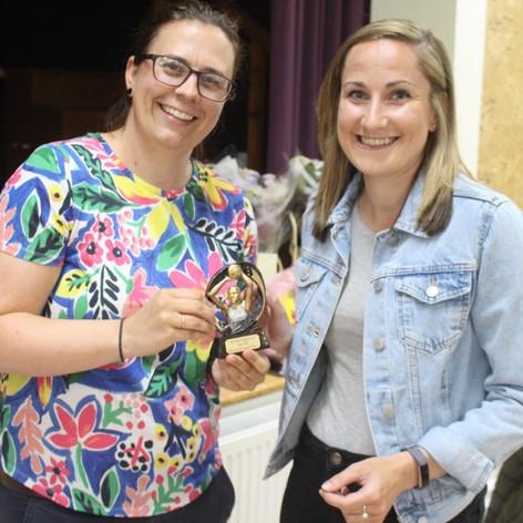 Award winner Lauren