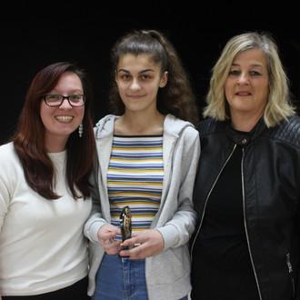 Award winner Hannah