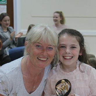 Award winner Nessa