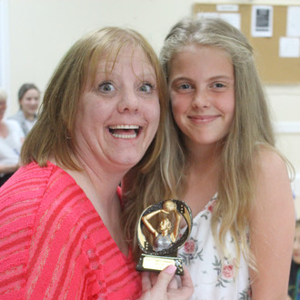 Award winner Aimee