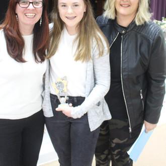 Award winner Evie