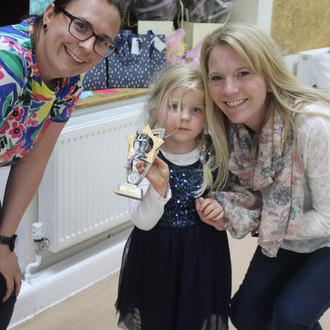 Award winner Karen