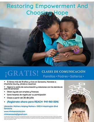Reach Flyer for MHM Class Spanish.png