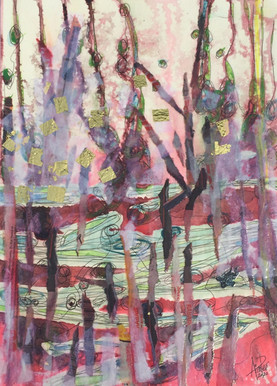 Aube marécageuse - Swamp Dawn