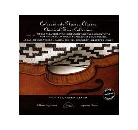 Obras para Violín Solo de Compositores Argentinos Vol. II