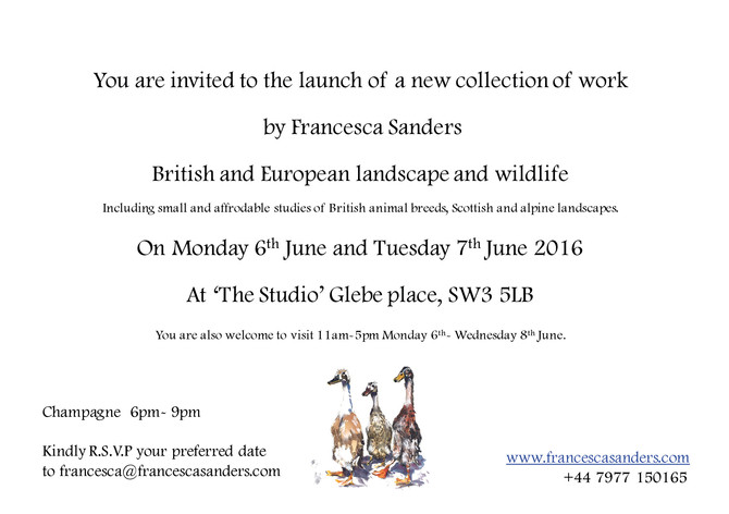 Launch of British paintings