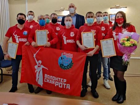Совместно с «Волонтерской Ротой» парламентарий обсудил развитие добровольческой деятельности