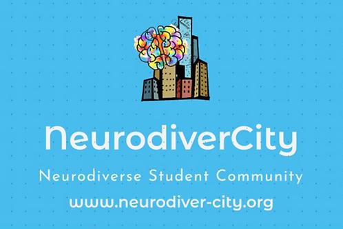 NeurodiverCity Sticker