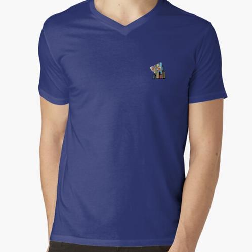 NeurodiverCity V-Neck Shirt