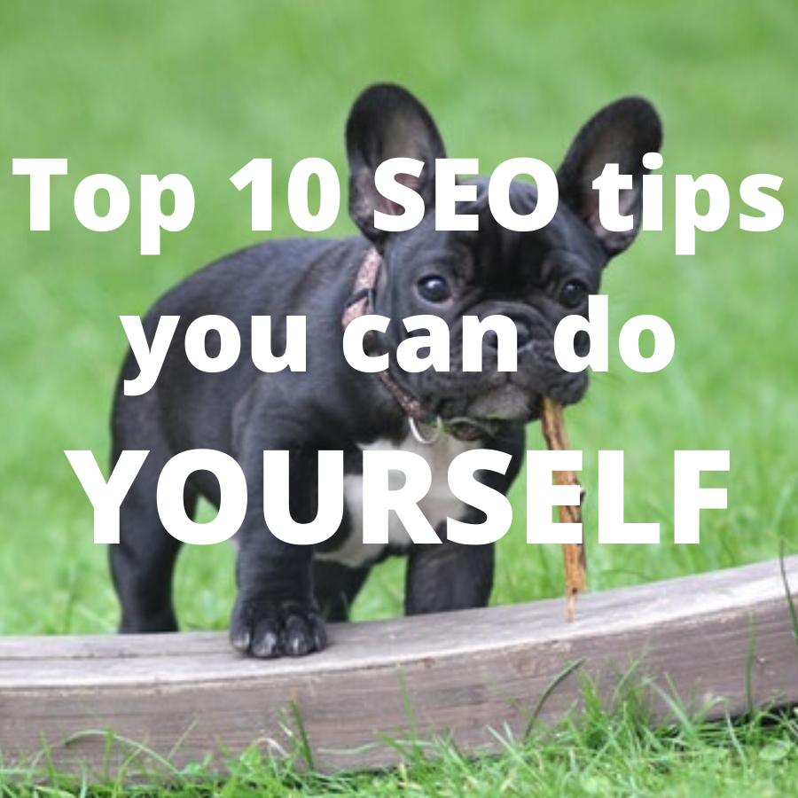 Top 10 SEO tips you can do yourself