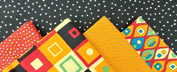 Squares, Dots and Squiggles Fabric Bundle