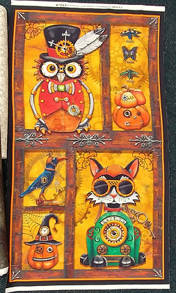 Steampunk Owls panel