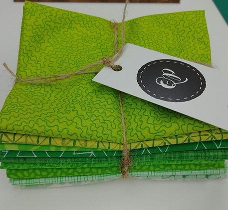 Touch o' the Green fabric bundle