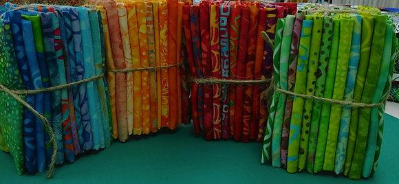 Batik Fat 1/8th bundles