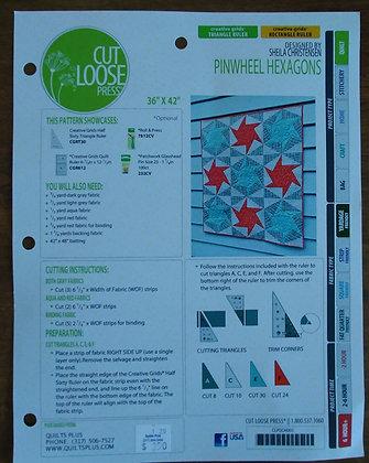 Pinwheel Hexagons pattern
