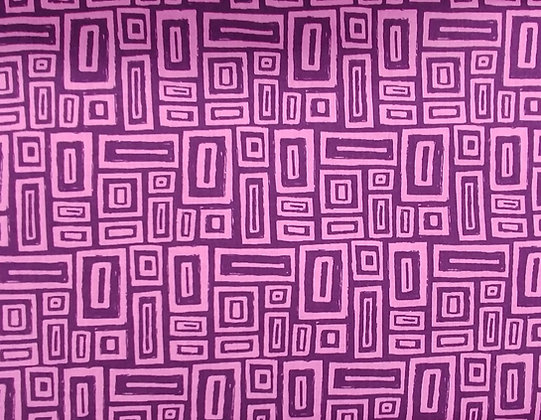 Point of Hue Purple Rectangles from Blank Textiles