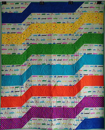 Transport ready-made-quilt
