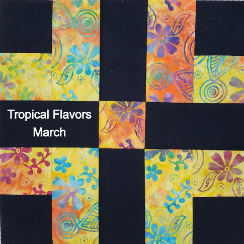 Tropical Flavors - March