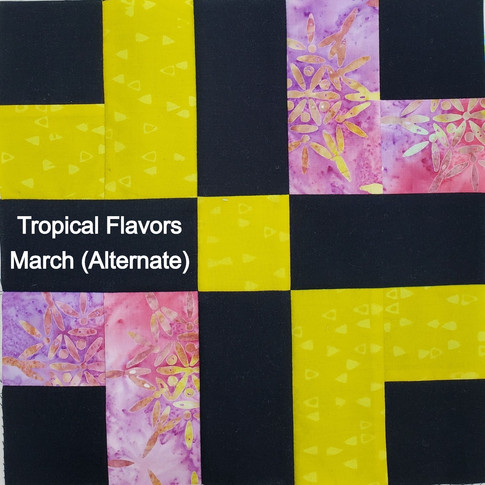 Tropical Flavors - March (Alternate)