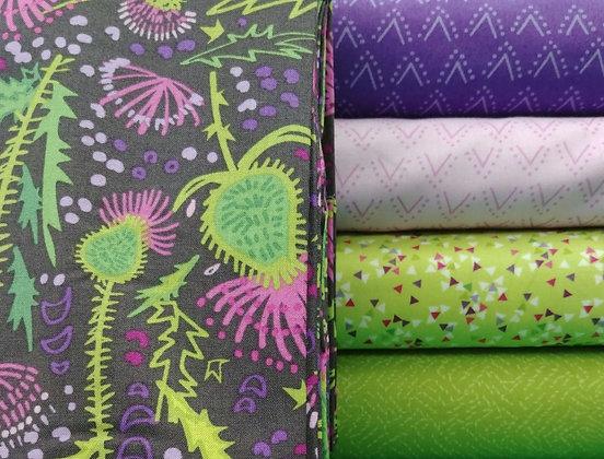 Thistle by Clothworks fabric bundle