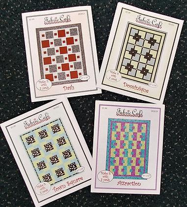 Three yard quilts pattern bundle