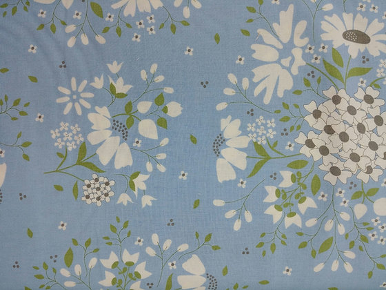 Spring Brook Blue fabric by the yard