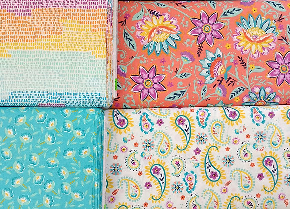 Summersong fabric bundle