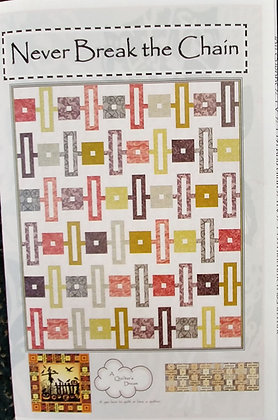 Never Break the Chain pattern by A Quilter's Dream